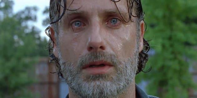 Encore une dure journée pour Rick et son groupe.
