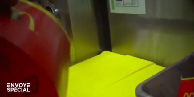 Image issue du sujet consacré au tri dans les fast-food.