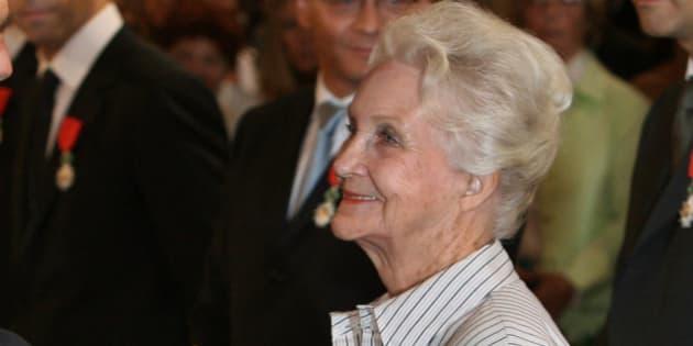 La féministe, sociologue et cofondatrice du Planning familial Evelyne Sullerot est décédée le 31 mars 2017.