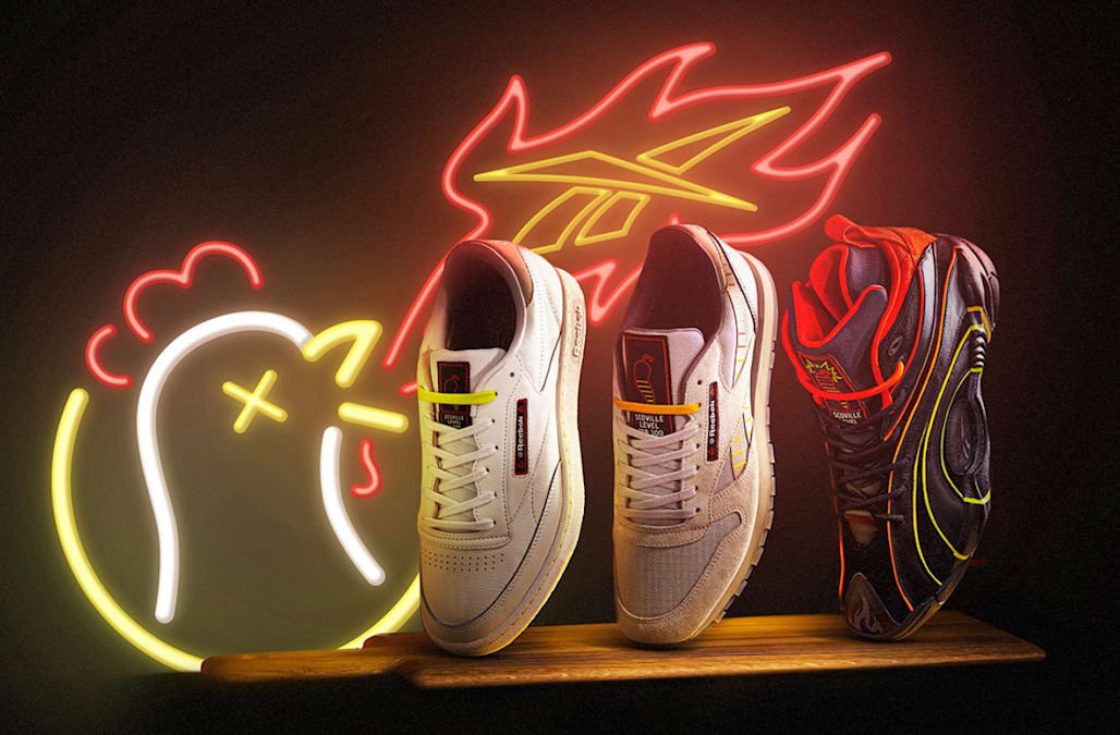 Reebok is teaming up with 'Hot Ones' to launch some very spicy sneakers