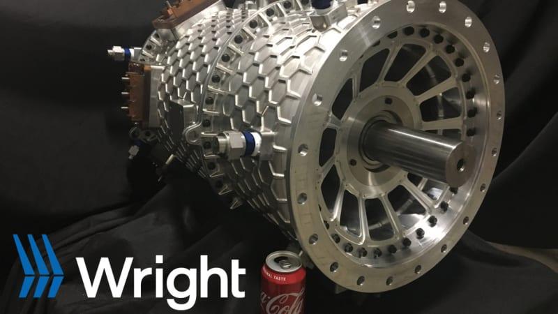 Wright testet 2-Megawatt-Elektromotor für Passagierflugzeuge€