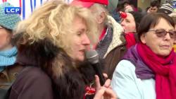 Cette députée LREM copieusement huée par les manifestants réclamant plus de moyens pour la