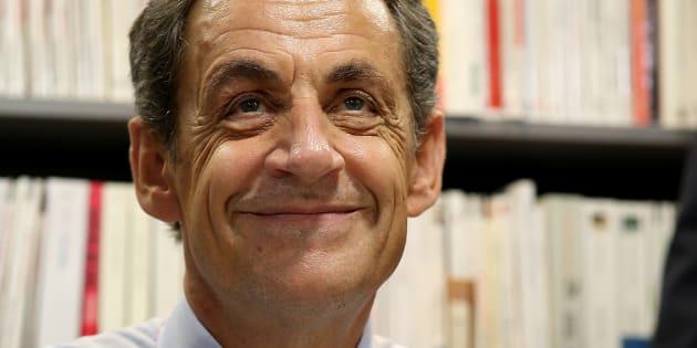 """""""Je n'ai jamais parlé"""" de littérature, dit Sarkozy. Vraiment?"""