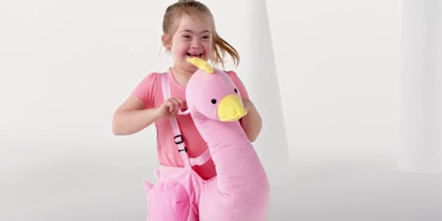 K-Mart have cast a child actor with Downs Syndrome in their latest toy ad.