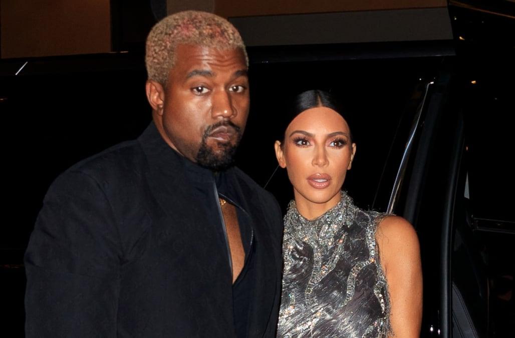 352283d3611 Kim Kardashian defends Kanye West amid Drake feud   Never threaten my  husband