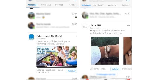 Les pubs vidéos sur Facebook Messenger arrivent en France