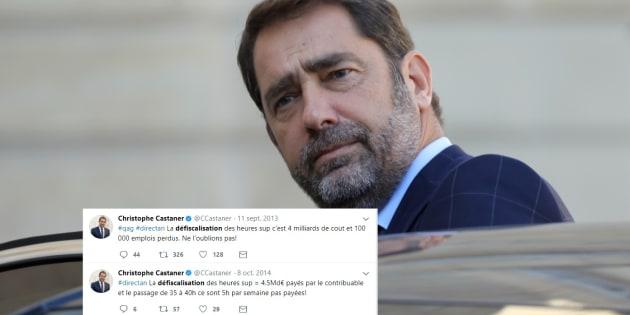 Sous le précédent quinquennat, le député socialiste Christophe Castaner était un farouche adversaire du rétablissement des heures supplémentaires défiscalisées, ressuscitées aujourd'hui par Emmanuel Macron.