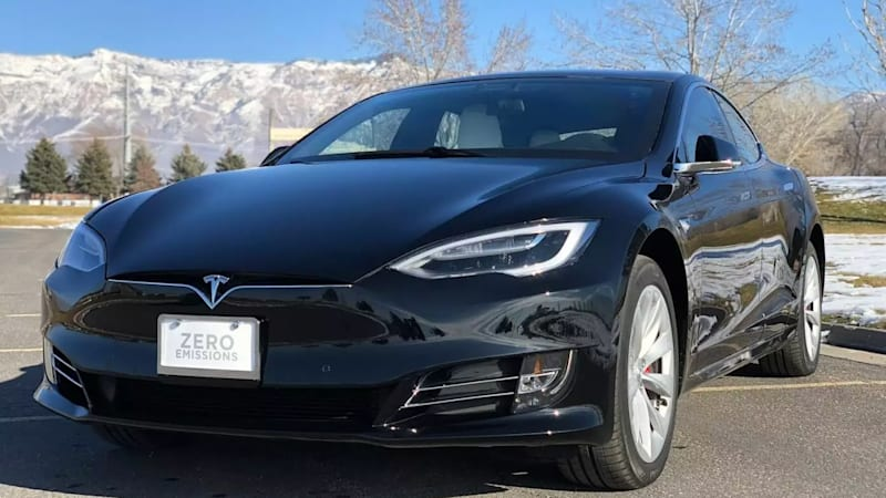 Fastest armoured car in the world Tesla Model S P100D