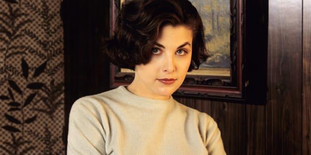 Sherilyn Fenn starring as Audrey Horne in Twin Peaks.