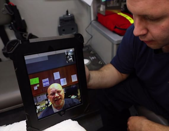 New program lets EMTs FaceTime with doctors