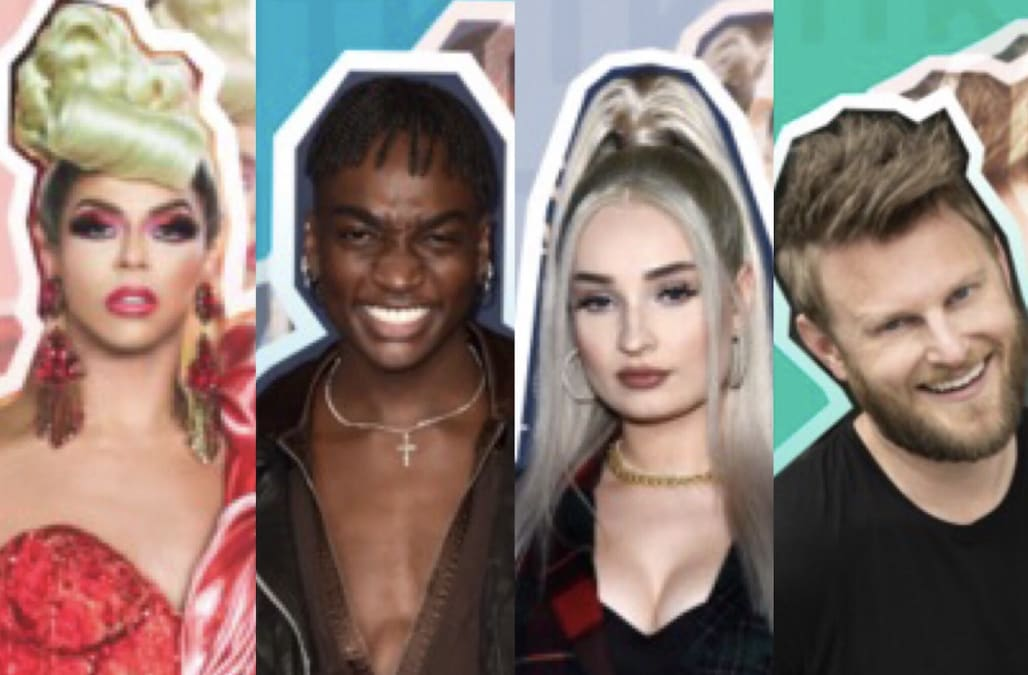 Interviews with Kim Petras, Shangela, Bobby Berk and more LGBTQIA+ stars for Pride Month