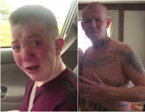 Bullied boy's father reportedly a white supremacist