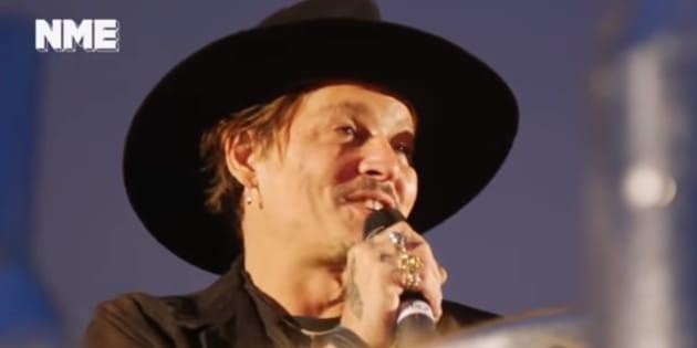 Cette blague de Johnny Depp passe très mal aux Etats-Unis