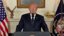 VIDEO: Donald Trump anuncia el inicio del bombardeo contra