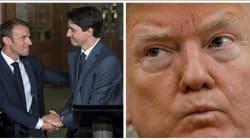 Trump solo contra todos antes del G7 en