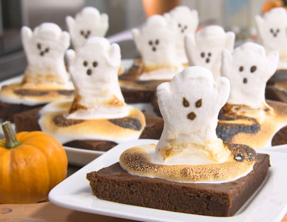Best Bites: Happy Halloween ghost brownies