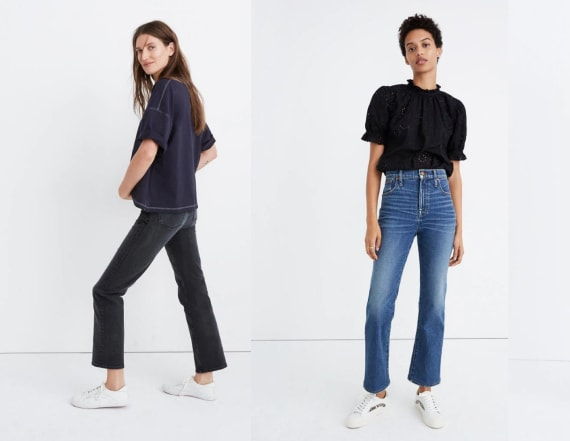 Madewell is having a huge sale on all jeans