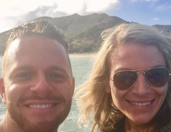 Man falls off cliff, dies taking photo with fiancée