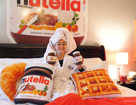 You have to see inside the amazing Hotella Nutella