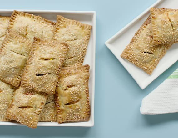 Back to school southwestern pastry pockets
