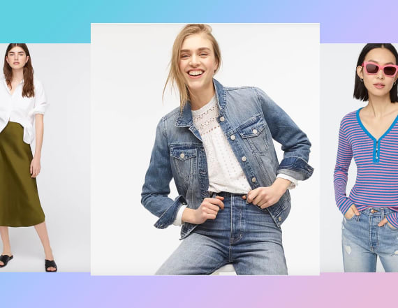 Grab these best-sellers from J. Crew's 40% off sale