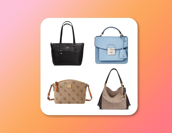 Save up to 50 percent on designer bags at Macy's