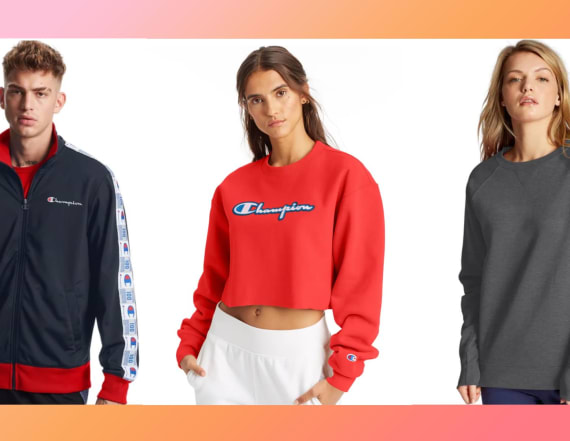 Save up to 40 percent on cozy loungewear at Champion