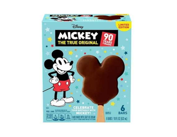 Mickey Mouse-shaped ice cream is coming to stores
