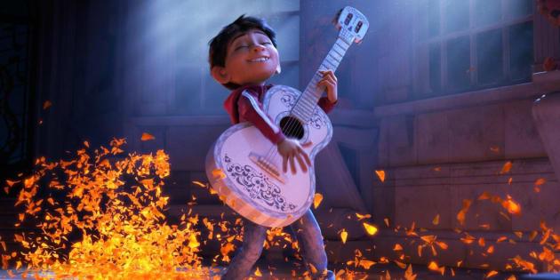 """Dans """"Coco"""", un petit garçon poursuit son rêve de guitariste."""