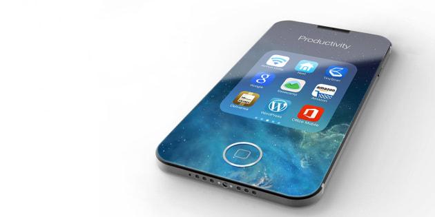 Un concept d'iPhone 8 imaginé par Eduardo Guerrero.