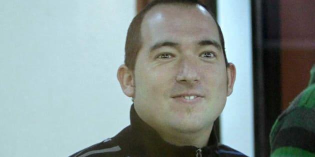El preso de ETA Xabier Rey, en la Audiencia Nacional, en una imagen de archivo.