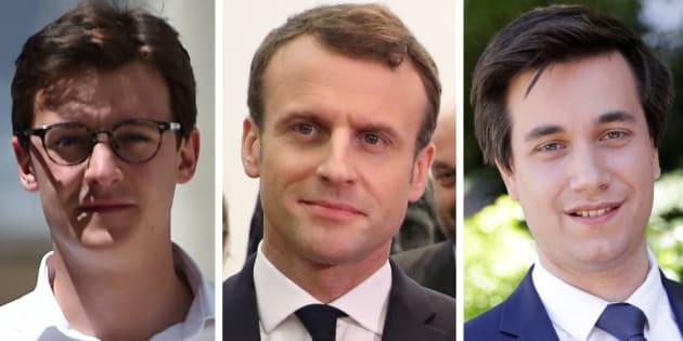 Sacha Houlié et Pierre Person sont deux des fondateurs des Jeunes avec Macron.