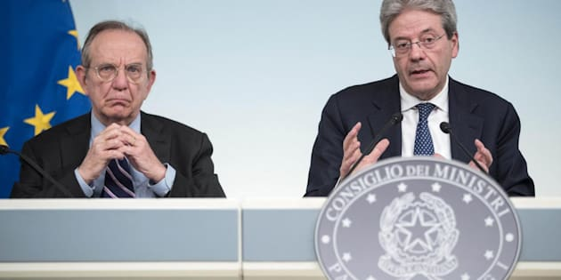 Il Governo approva la nota di aggiornamento al Def: sale il Pil, scende il debito