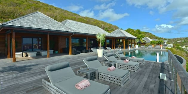 La villa de Johnny Hallyday remise en location — Saint-Barth