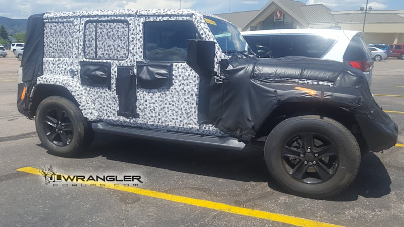 Next Generation Jeep Wrangler Arriving At The End Of 2017 Diesel