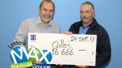 Il gagne une deuxième fois au Lotto Max en trois