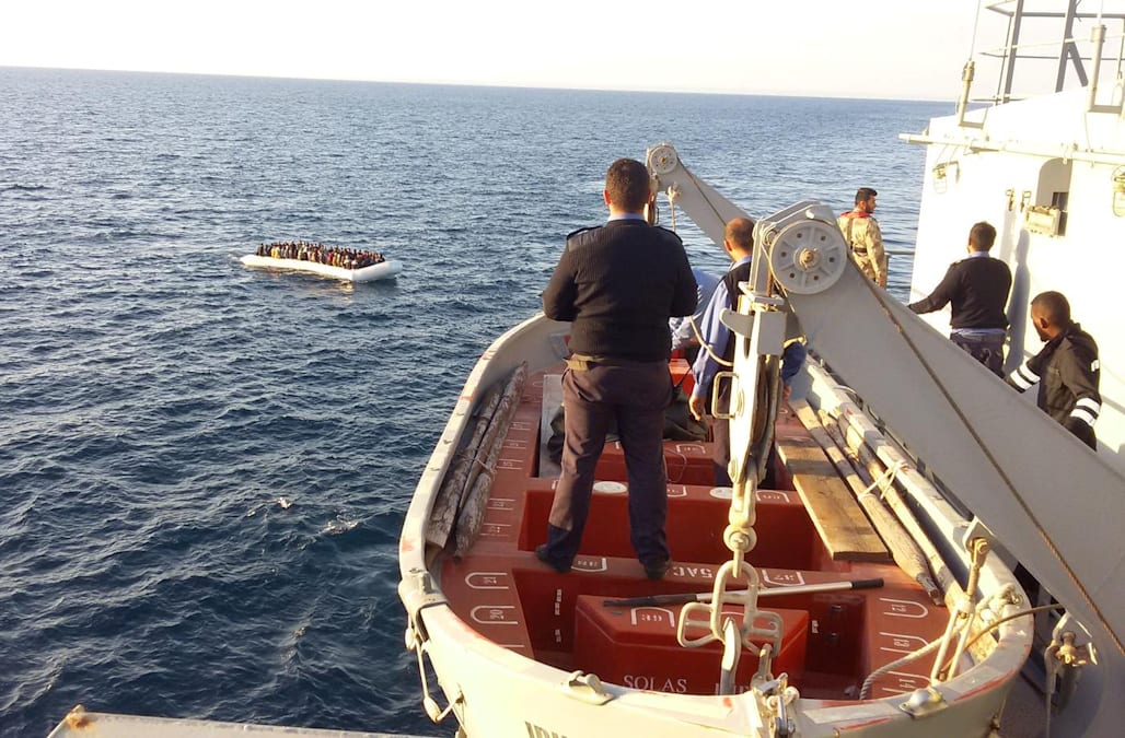 Image result for Thirty-One Bodies Recovered After Migrant Boat Sinks off Libya