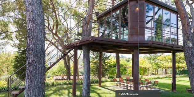 La casa sull 39 albero e altri 10 posti pazzeschi dove trascorrere una notte in italia con airbnb - Casa sull albero airbnb ...