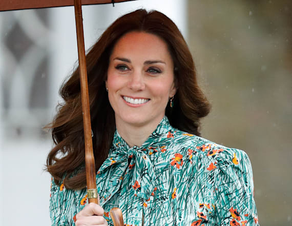 How Kate Middleton can wear high heels all day