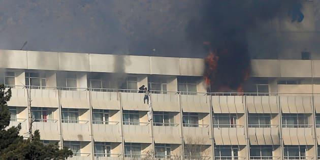 Les responsables de l'attentat contre l'hôtel Intercontinental de Kaboul.