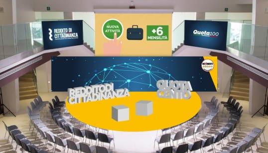 LA PARATA DEL REDDITO - Grande evento M5s per celebrare il sogno diventato realtà. Con tutti i vertici, il fondatore Grillo e...