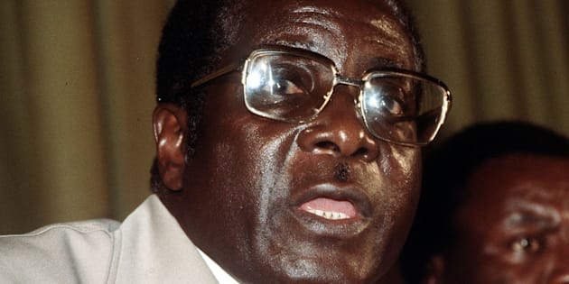 File photo dated February 1, 1980, of Robert Mugabe.