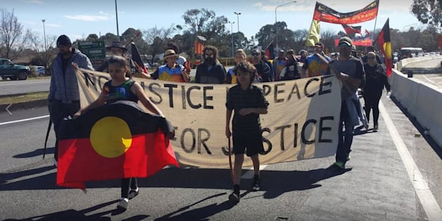 Pryor has walked for Indigenous justice.