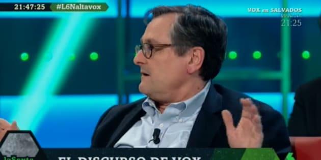 Francisco Marhuenda en 'LaSexta Noche'.