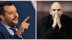 Salvini dice que estudiará retirarle la escolta al escritor Saviano, amenazado por la