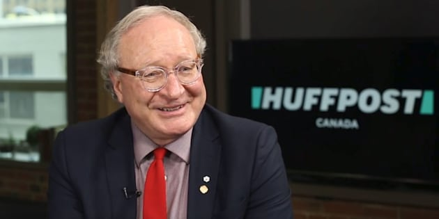 P.E.I. Premier Wade MacLauchlan speaks in the Toronto studios of HuffPost Canada on March 1, 2018.