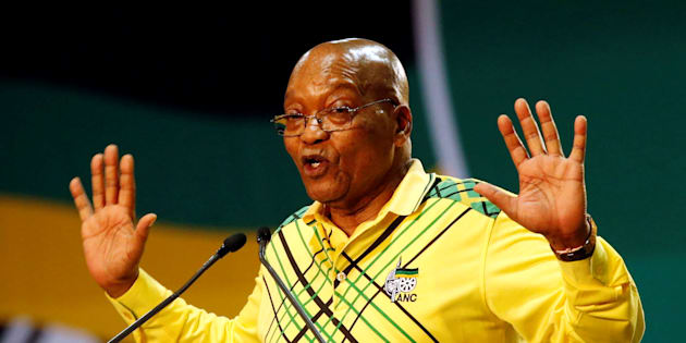 President Jacob Zuma at the ANC's 54th national conference.