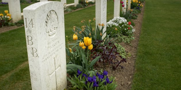 Three Aussie WWI diggers have finally been laid to rest in France.