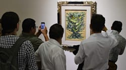 Expo Duarte: exhiben las obras incautadas al exgobernador de