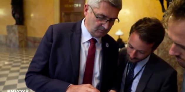 """Le député Jean-Marie Fievet interrogé par """"Envoyé Spécial"""""""